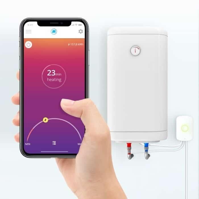 Smartphone app voor je boiler